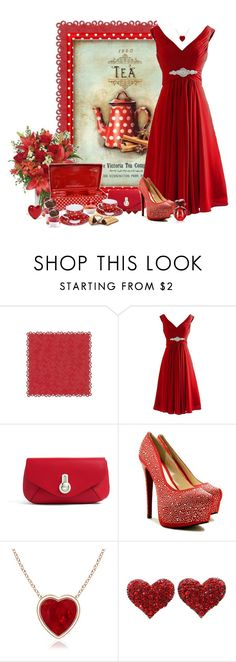 """chá da tarde"" by sil-engler ❤ liked on Polyvore featuring Raoul and Alison Lou"