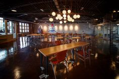 Main open space at MatchBOX Studio in Lafayette, IN. Lafayette Indiana, Coworking Space, Virtual Tour, Tours, Studio, Places, Inspiration, Design, Home Decor