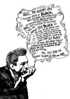 Man in Black - Johnny Cash. Even people who like him underestimate him. As with all truly great artists - his complexity and brilliance were part of his DNA - not cultivated. Johnny Cash June Carter, Johnny And June, The Words, Johnny Cash Quotes, Johnny Cash Lyrics, Johnny Cash Tattoo, Lyric Quotes, Me Quotes, Frases
