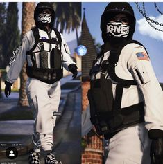 Hot Outfits, Girl Outfits, Female Outfits, Mafia Outfit, Rock Star Outfit, Red Dead Online, Anime Drawing Styles, Gta 5 Online, Mask Girl