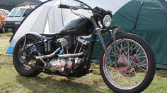 Bobber Inspiration | Ironhead bobber | Bobbers and Custom Motorcycles