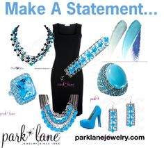 """""""Statement"""" by parklanejewelry on Polyvore For this set, visit www.JennsBlingThing.com or www.myparklane.com/jsinclair"""