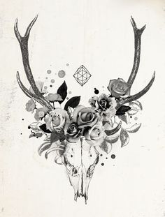 What a great chest piece this would be! Or in the middle of my back?!