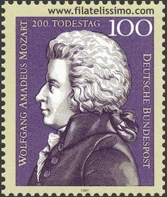 Wolfgang Amadeus Mozart Germany Music by PassionGiftStampArt Classical Music Composers, German Stamps, Amadeus Mozart, Old Stamps, Postage Stamp Art, Music Images, Stamp Collecting, Mail Art, Poster
