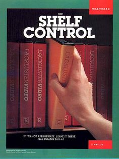 "Use ""shelf"" control"
