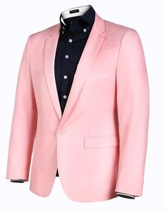Men! A pink blazer isn't something that everyone call pull off. Less of a man would cower from the opportunity to bask in blue. But not you. You're a classy guy. Check out this and other pink, magical and trending things that sparkle at PrettyPinkThings.com.