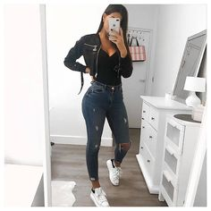 Trendy outfits for teenagers trendy outfits teenagers trendige outfits Cute Casual Outfits, Basic Outfits, Mode Outfits, Simple Outfits, Outfits For Teens, Dress Casual, Winter Fashion Outfits, Fall Outfits, Summer Outfits
