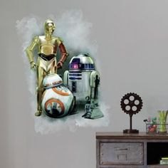 Star Wars™ The Force Awakens Peel and Stick Giant Wall Decal - BedBathandBeyond.com