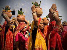 Procesión, India