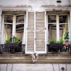 Simple #shutter love on the streets of #paris #love #frenchstyle #myfrenchcountryhome