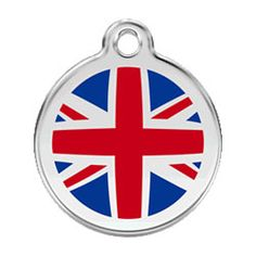 Medium Dog ID Tag - Union Jack