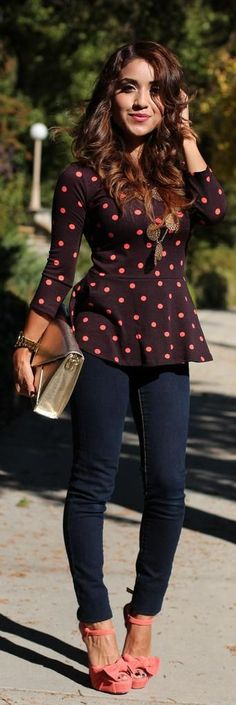 Love peplum tops