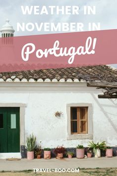 Visiting Portugal soon and want to know what to expect from November Portugal weather? Read this Portugal travel guide to learn more! Portugal Travel, Portugal Travel Guide, Portugal Travel Itinerary, Portugal Travel Tips #portugaltravel #potugaltraveltips #portugaltravelguide #portugalweather Portugal Vacation, Portugal Travel Guide, Europe Travel Guide, Spain Travel, Travel Guides, Portugal Places To Visit, Places In Europe, European Travel Tips, European Vacation