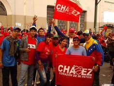 Gran Cierre de Campaña de Chavez 4 de Octubre 2012 av Universidad