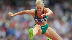 Derval O 'Rourke was a sprint hurdles athlete who has been world indoor champion, won European silver medals and has been to the Olympics three times. 100m Hurdles, Leadership Excellence, 2012 Summer Olympics, European Championships, Sports Training, Sports Stars, Female Athletes, Olympic Games, School Uniform