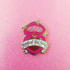 Magical Girl Gang Enamel Lapel Pin