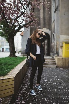 Street Style: Sporty Casual