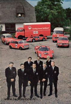 Racing Team Holland. Programmablad, 1969.