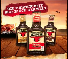 Gewinnspiel: Bull's Eye - Die männlichste BBQ-Sauce der Welt!