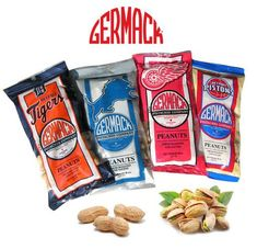 Nuts about Germack Pistachios & Peanuts! -proudly made in Detroit, Michigan