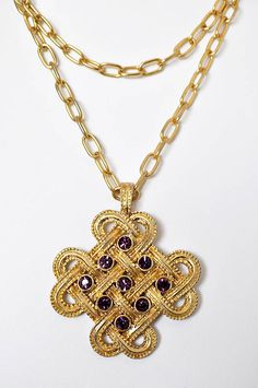 Celtic Knot Necklace so beautiful Celtic Love Knot, Celtic Knots, Celtic Knot Necklace, Holiday Jewelry, Celtic Designs, Spirals, Wire Work, Cross Pendant, Wire Jewelry