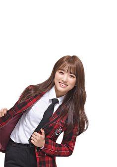 181026 #아이즈원 스쿨룩스 화보 #izone #nako | 네이버 블로그 Yu Jin, Japanese Girl Group, Female Singers, The Wiz, School Uniform, Kpop Girls, Asian Girl, One Pic, Korea