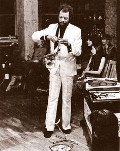 JazzyFarmer — Ornette Coleman recording in his loft at 131...