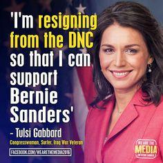 Tulsi Gabbard supports Bernie