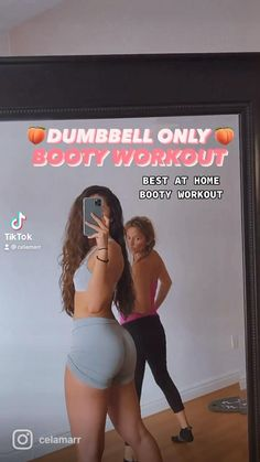 Leg And Glute Workout, Slim Waist Workout, Gym Workout Videos, Gym Workout For Beginners, Fitness Workout For Women, Dumbbell Workout, Fitness Goals, Fitness Motivation, Summer Body Workouts