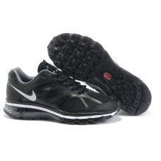 Femme Nike Air Max 2012 Noir/Blanc 88,98