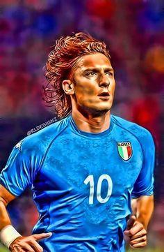 Totti Francesco, Legends Football, As Roma, Football Wallpaper, Pumas, Best Player, Rome, Versace, Soccer