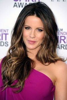 Hair color. Not this light on ends. 2013 Long Thick Wavy Hairstyle for Women   Hairstyles Weekly