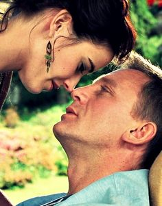 """Eva Green as Vesper Lynd and Daniel Craig as James Bond in """"Casino Royale"""" (2006). """"Vesper Lynd: I can't resist waking you. Every time I do you look at me as if you hadn't seen me in years. Makes me feel reborn. James Bond: If you had just been born wouldn't you be naked?"""" """""""