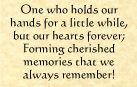 a child; a friend; a dear one... <3