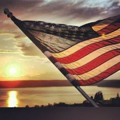USA flag with a beautiful sunset. www.thepsychicline.com..........WOW,.....WHAT A BEAUTIFUL PICTURE........LOVE THIS                                                                                                                                                                                 More