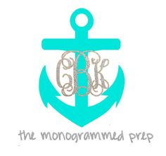 The Monogrammed Prep Car Decals are made to order. These decals are perfect for your car window, laptops, binders, or anything else smooth and