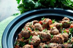 Meatballs with Spicy Tomato