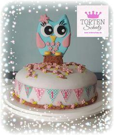CUTE OWL CAKE by www.tortenschatz.de