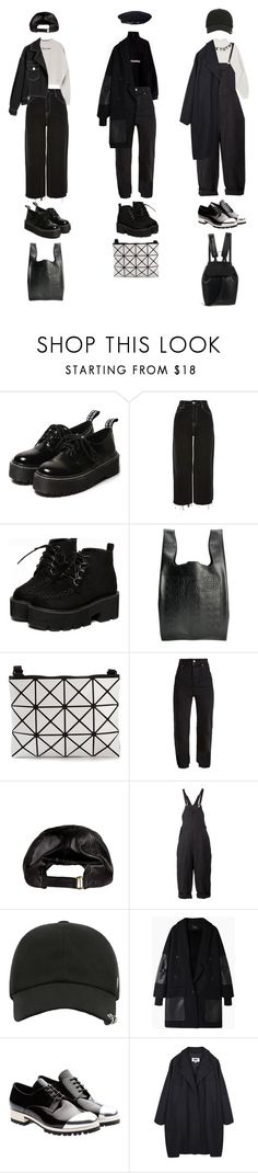 """""""Untitled #1309"""" by jayda-xx ❤ liked on Polyvore featuring VFiles, Topshop, Cast of Vices, Bao Bao by Issey Miyake, Vetements, Aganovich, Rachel Comey, Mansur Gavriel, Miu Miu and MM6 Maison Margiela"""