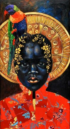 Amazing Vivid and Buoyant Art by Tamara Natalie Madden - black art - Arte Black, African American Artist, Illustration Art, Illustrations, Black Artwork, Afro Art, Arte Pop, Black Women Art, Black Artists