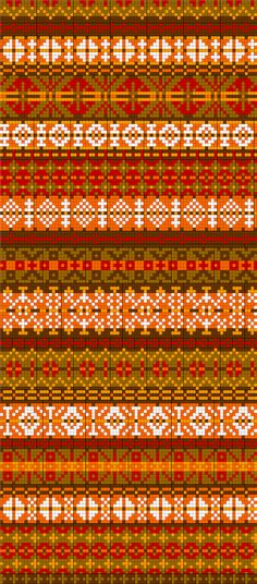 Fair-isle chart Isle Strickmuster Diagramme Ideen Love this super-easy idea! Fair Isle Knitting Patterns, Knitting Charts, Knitting Stitches, Knitting Designs, Sock Knitting, Knitting Tutorials, Knitting Machine, Vintage Knitting, Free Knitting