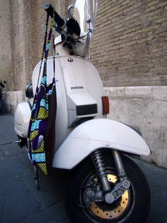 Roma – Ciao Bintou ! | Bonjour Bintou Piaggio !