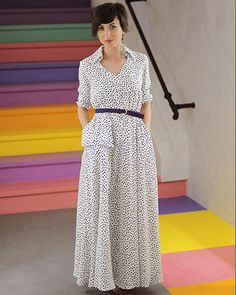 """Rochie unicat """"Polkadot me"""" - Colors Of Love Black White Red, Green And Grey, Red Green, City Vibe, Love Affair, Polka Dots, Comfy, Fresh, Stylish"""