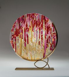 Sunrise+Sunset by Varda+Avnisan: Art+Glass+Sculpture available at www.artfulhome.com