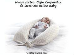 Nuevo sorteo: Cojín de Lactancia Corporelax de Belino Baby | noosloperdais