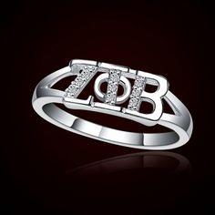 Zeta Phi Beta Sorority Rings