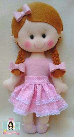 Best 11 Handmade cloth doll RagdollCloth dollShabby by lunnitastudio – SkillOfKing. Felt Patterns, Stuffed Toys Patterns, Doll Crafts, Diy Doll, Fabric Dolls, Paper Dolls, Sewing Dolls, Felt Diy, Soft Dolls
