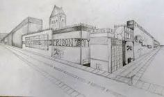 Afbeeldingsresultaat voor 2 point perspective Point Perspective, City, Google Search, Cities