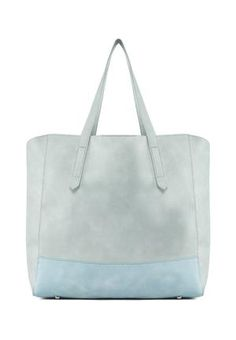 Color Blocked Tote