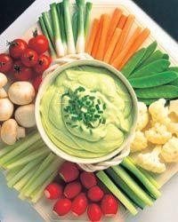 The Vegan Tummy: Avocado Veggie Dip